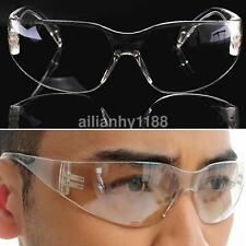Sport/Lab/Industry Safety Protective Goggles Glasses Clear Lens Eye Protection