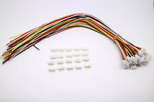 20 SETS Mini Micro JST 2.0 PH 4-Pin Connector plug with Wires Cables 300MM