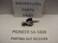 Pioneer SA-5800 Original Rocker Switch. Tested Parting out SA-5800 Amplifier.