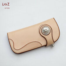 leather bag patterns long wallet patterns PDF CCD-07 leather craft patterns