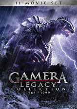 Gamera: Legacy Collection 1965-1999 (DVD, 2014, 4-Disc Set) - NEW!!