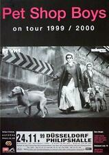 PET SHOP BOYS TOURPOSTER KONZERTPLAKAT ON TOUR 1999 DÜSSELDORF