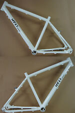 "Heli-Bikes Light Rohloff Cross Trekking 28"" Alu Rahmen 48cm blanco Brillante 15"