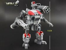 Lego MOC Custom Armored Trooper VOTOMS Metal Mech build set Mecha Battle machine