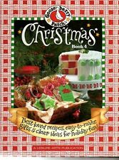 Gooseberry Patch Christmas Book 4 Recipes Decorating Gifts Holiday Fun