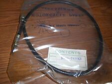 NOS MC Suzuki B100 B100P RV90 B105P KT120 Speedometer Cable Japan 34910-07100