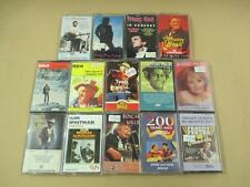 Bulk lot of country and western cassettes, Johnny Cash, Marty Robbins, etc