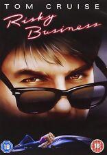 Risky Business [DVD] [1983] Tom Cruise, Rebecca de Mornay Brand New and Sealed