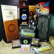 FIREFLY 'BIG DAMN HEROES SIR' LOOT CARGO CRATE LOT (SERENITY) Zoe Complete