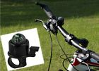 Black MTB Bicycle Bike Cycling Handlebar Alarm Metal Ring Bell Horn with Compass