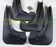 For BMW X3 Black Molded Splash Mud Flap Flaps Guard 2011 2012 2013