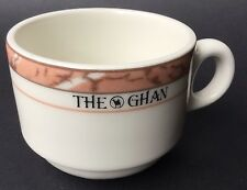 The Ghan Coffee Cup Fine China Porcelain Australian Railroad Railway Rare Find