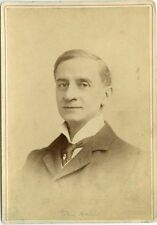 J830~ Cabinet Card John Hare Actor Manager Garrick Theater London