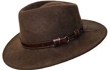 """Scippis """"Sanford"""" Wanderhern Jägerhut Cowboy Hut in 2 farben Wolle braun Gr. XL"""