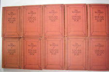 1904 Complete Set THE WORKS OF EDGAR ALLAN POE The Raven A Gordon Pym Gold Bug++