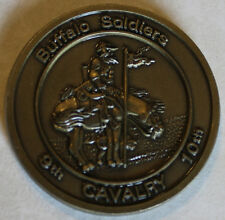 BUFFALO SOLDIER 9th, 10th Cavalry Army Challenge Coin S