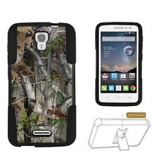 Beyond Cell Shell Case Hyber For Alcatel Pop Astro 5042T Autumn Camoufla Autu...