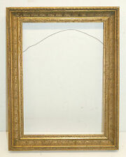 Beautiful Antique 1800's Intricately Ornate Gilded Frame   17 1/4 x 12 1/2