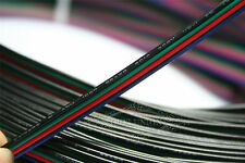 10M RGB 4-Pin 22AWG Extension Cable Wire Cord Connector for LED Strip 3528 5050
