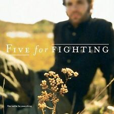 """THE BATTLE FOR EVERYTHING: """"100 Years,"""" """"Dying"""" + 10 more (CD) FIVE FOR FIGHTING"""
