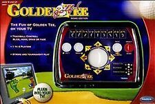 New GOLDEN TEE GOLF Plug & Play HOME TV Game Radica VIDEO EDITION Sealed
