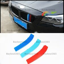 Exact Fit ///M-Colored Grille Insert Trims For BMW F10 F11 5 Series (12 Beams)
