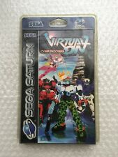 Rare ! Virtual On SEGA Saturn - Sealed Blister Rigide New
