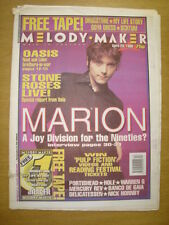 MELODY MAKER 1995 APR 29 MARION OASIS PORTISHEAD HOLE