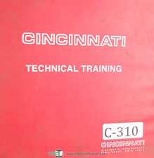 Cincinnati Form Master II, 90-350, CNC Press Brakes Training Program Manual 1995