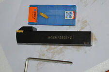 MGEHR2525-2 25x150mm 2mm width  For MGMN200 External Grooving Cut-Off Toolholder