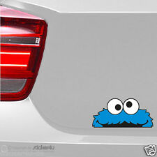 (1112) Fun Sticker Aufkleber / Cookie Monster JDM Peeper Krümmel Sesamstrasse
