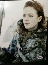 Rose Leslie Game of Thrones Autographed Signed 8x10 Photo Certified PSA/DNA