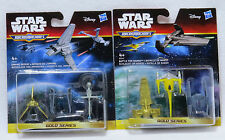 Micro Machines Star Wars - Return Of Jedi & Phantom Menace - 2 New Packs - Gold