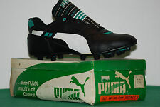 vintage puma boots NOS scarpini SOCCER CAT 80s leather west Germany rare 1980