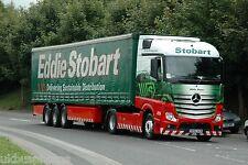 Eddie Stobart GK62OZB at Sherburn in Elmet Aug 2013 Truck Photo B
