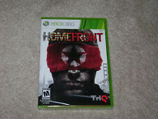HOMEFRONT...XBOX 360...***ORIGINAL COVER***SEALED***BRAND NEW***!!!!!