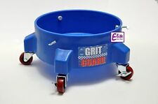 Grit Guard Detailing Bucket Dolly in BLUE - Strong & Durable with 5 Castors
