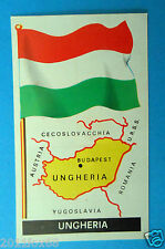 figurines stickers picture cards figurine bandiere del mondo 40 ungheria folgore