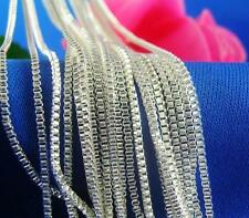 Hot Sale Women's 1pc Silver Necklace Chain 20 inches