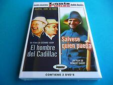 SALVESE QUIEN PUEDA / EL HOMBRE DEL CADILLAC -pack2dvd- Louis de Funes -Precint