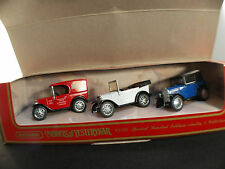 Matchbox models of yesteryear YS65 Set Austin Seven collection 3 austin 7 neuf
