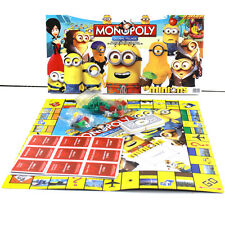 Party Family Board Game MONOPOLY Despicable Me Minions  2~6 Players Fun Gift