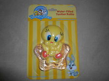Baby Looney Tunes Baby Tweety Pink Water-Filled Teether Rattle, NEW IN PACKAGE!!
