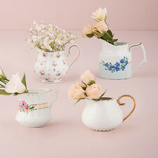 12 Vintage Style Creamer Tea Party Wedding Shower Centerpiece Decorations Q27178