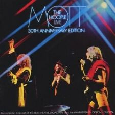 "MOTT THE HOOPLE ""MOTT THE HOOPLE LIVE"" 2 CD NEU"