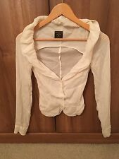 Vivienne Westwood Silk Top Blouse Shirt XS