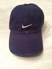 Vintage Nike Hat Cap Strapback Embroidered Swoosh 100% Cotton New With Tag