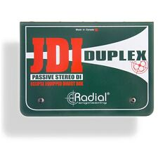 Radial Engineering JDI Duplex Passive 2-Channel Dual Stereo Direct Input Box