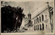 La Bolivie Amérique du sud vintage postcard ~ 1940 routes Lot église real photo card