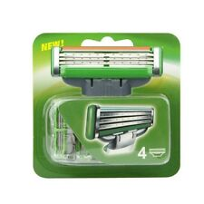 2 Pack of 4 Razor with 3 Layer Blades For Gilette Gillete Mach3 Mach 3 Power